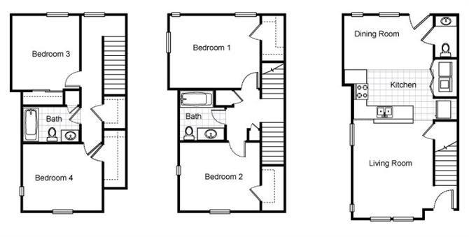 Richmond Village Apartments Floor Plans