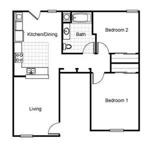 Richmond Village Apartments Floor Plans