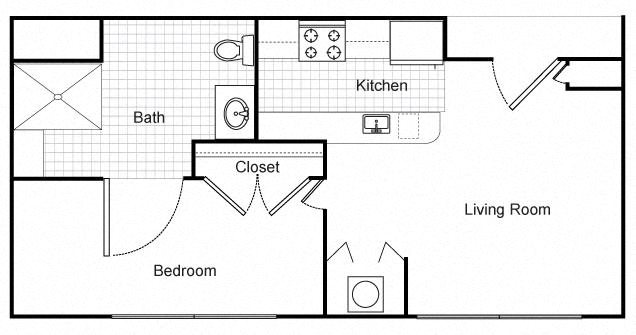 Floor Plans of Senior Living at Renaissance Place Apartments in St ...