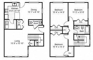 Tremont Pointe Apartments Floor Plans