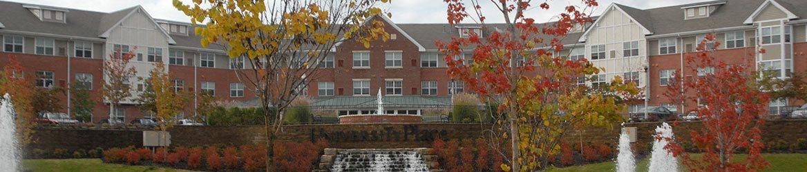 Apartment building exterior-University Place Apartments, Memphis, TN 38104