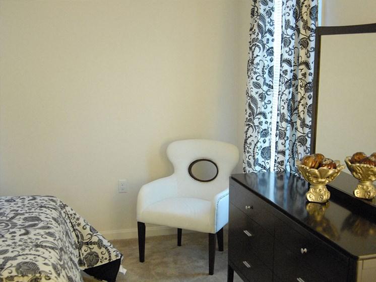 Interior apartment bedroom_Lafitte,New Orleans, LA