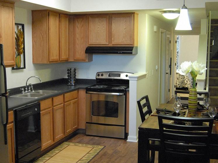 Interior apartment kitchen area_Lafitte,New Orleans, LA