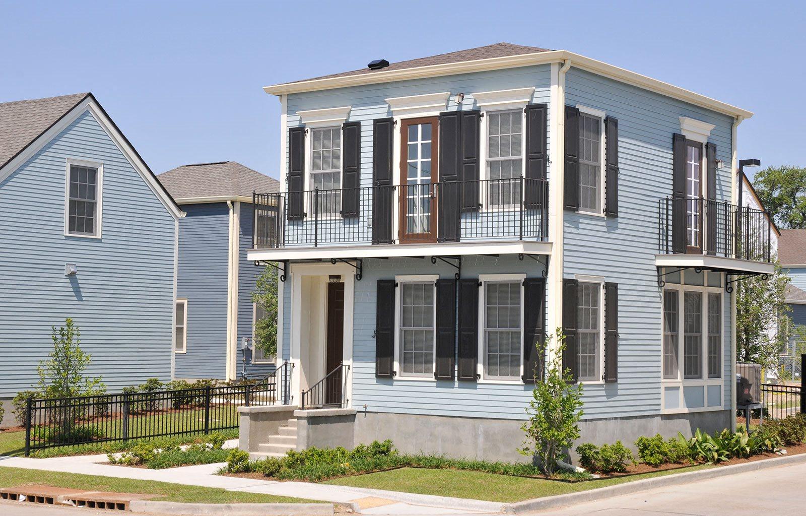 Exterior of building_Lafitte,New Orleans, LA