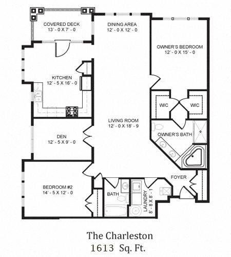 The Charleston Floor Plan in 3D