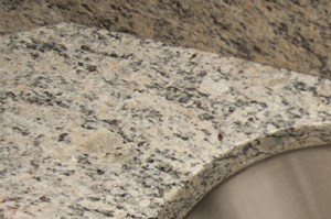 Close Up of Kitchen Sink w/Granite Countertop