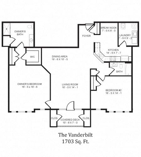 The Vanderbilt Floor Plan in 3D