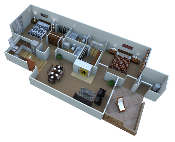 Plan B-3 Juniper Floor Plan 3