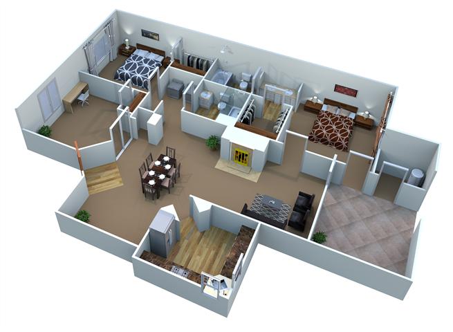 Plan C-1 Palo Verde Floor Plan 7