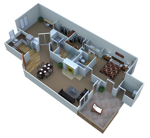 Plan B-2 Willow Floor Plan 2
