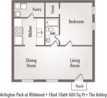 The Ashley Floor Plan 1