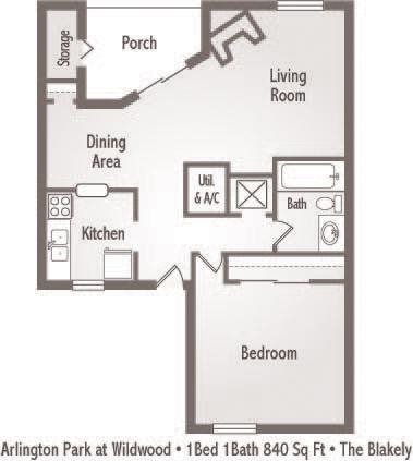 The Blakely Floor Plan 2
