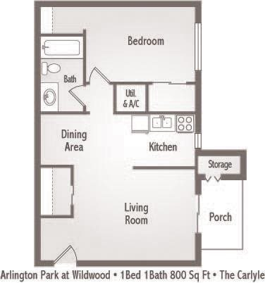The Carlyle Floor Plan 3