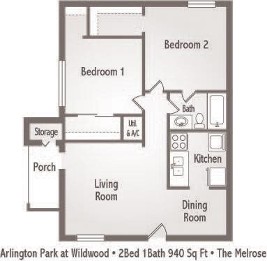 The Melrose Floor Plan 5