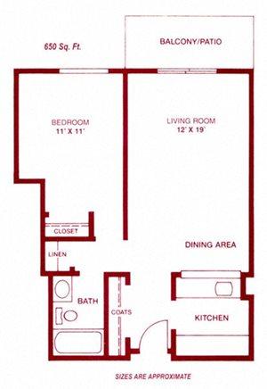 One Bedroom Kimball I