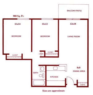 Two Bed One Bath Kimball I
