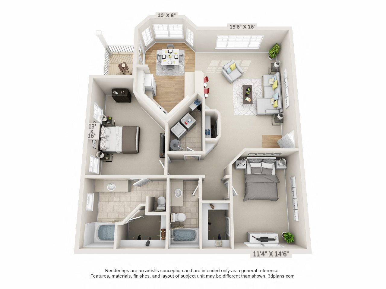 Lighthouse Floor Plan 7