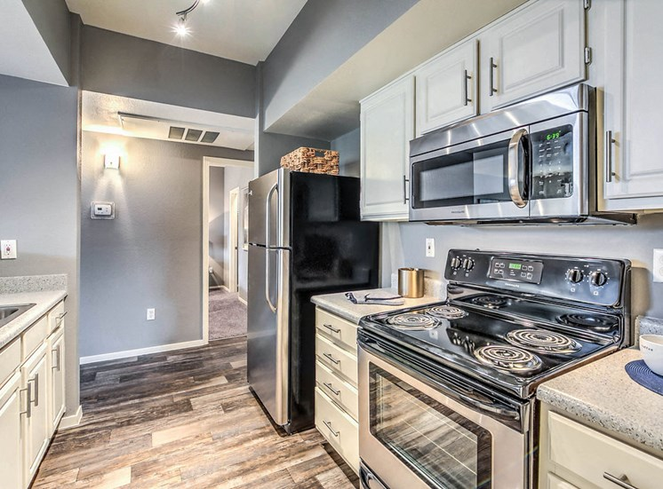 Copper Creek Apartments Cedar Creek Kitchen