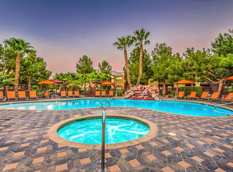 Copper Creek Apartments Pool