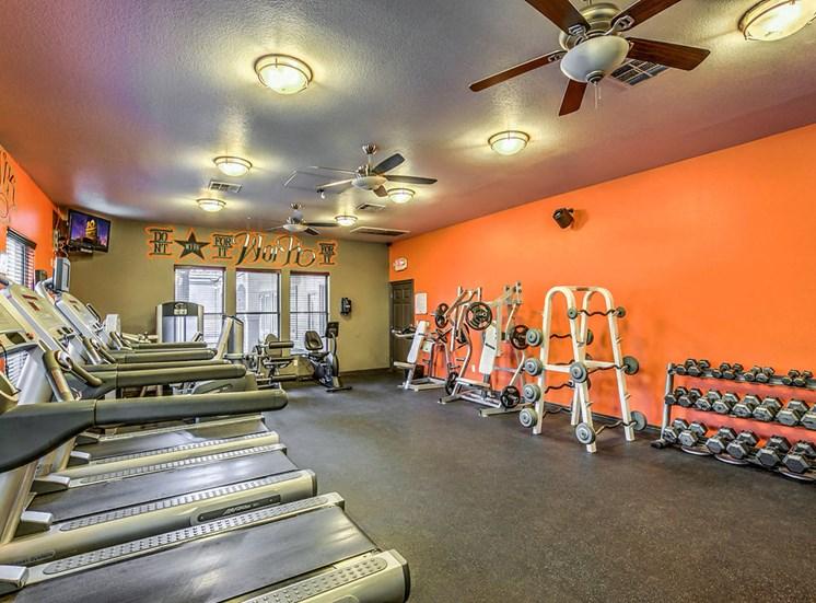 Copper Creek Apartments Fitness Center