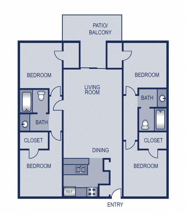 4x2 - 1188 Floor Plan 16