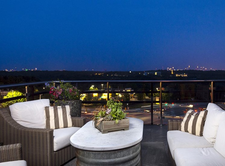 Nighttime city views at Riverwood, 3270 Walton Riverwood Ln. SE, Atlanta