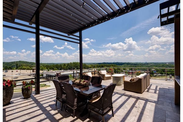 Gorgeous skydeck at Riverwood, Atlanta, GA