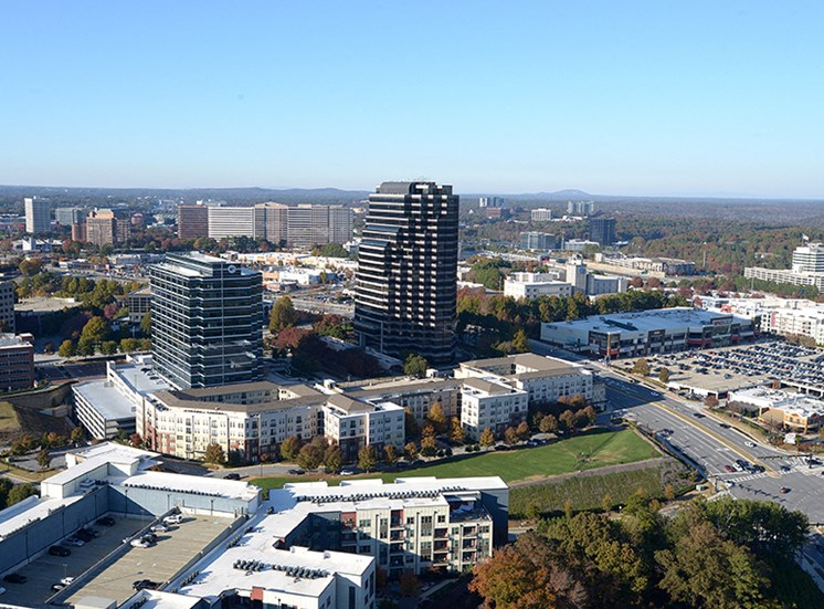 Walton Riverwood Aerial View, Atlanta GA