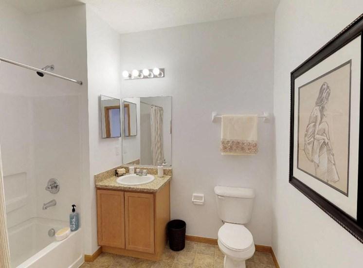 Two Bedroom 1 Bathroom Model