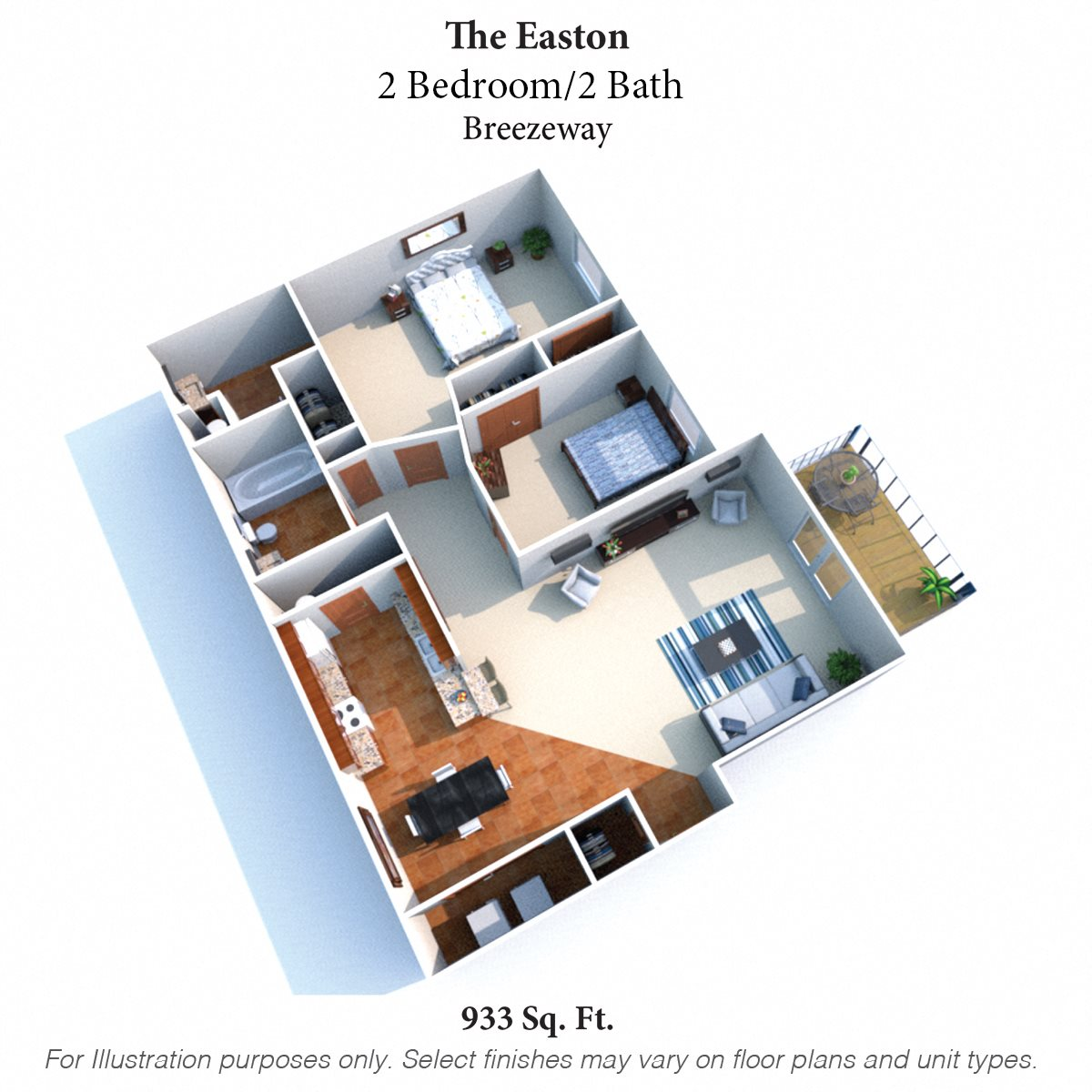 The Easton Floor Plan 3