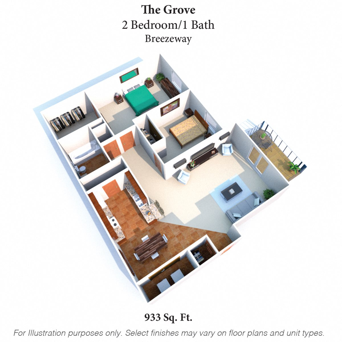 The Grove Floor Plan 2