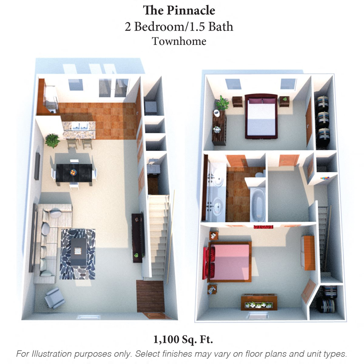 The Pinnacle Floor Plan 4
