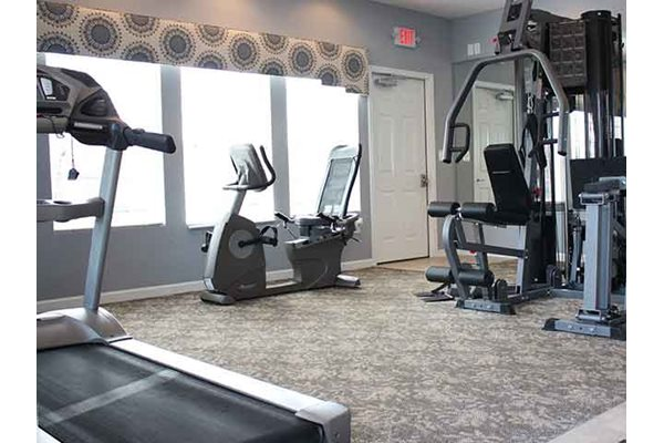Fitness Center at Brookfield Village in Grove City, OH