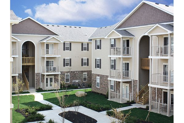 Patios and Balconies at The Residences at Liberty Crossing, Ohio, 43235