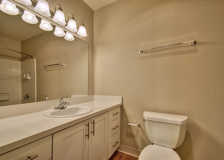 Luxury Apartment Community Bathroom Vanity