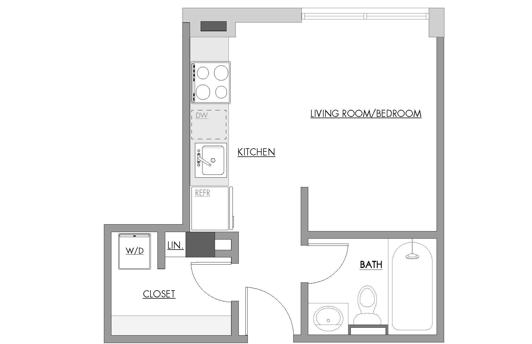 Studio C Floor Plan 3