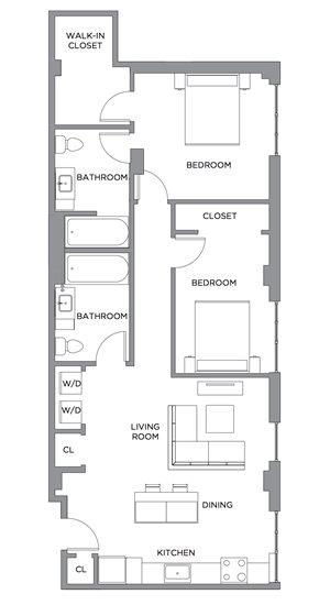 Madison Two Bedroom ADA