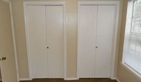 Large Closets at Apartments in Lawton