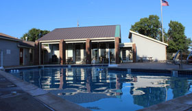 Outdoor Pool at Willowpark  Apartments in Lawton