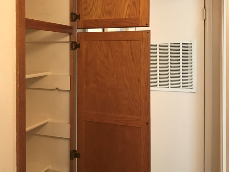 storage at Willowpark Apartment Homes in Lawton OK