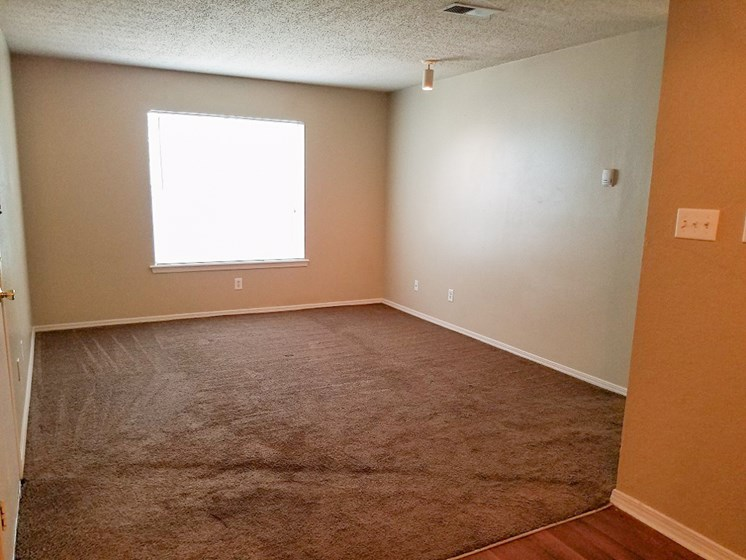 living room in 2 bedroom at Willowpark Apartment Homes in Lawton OK