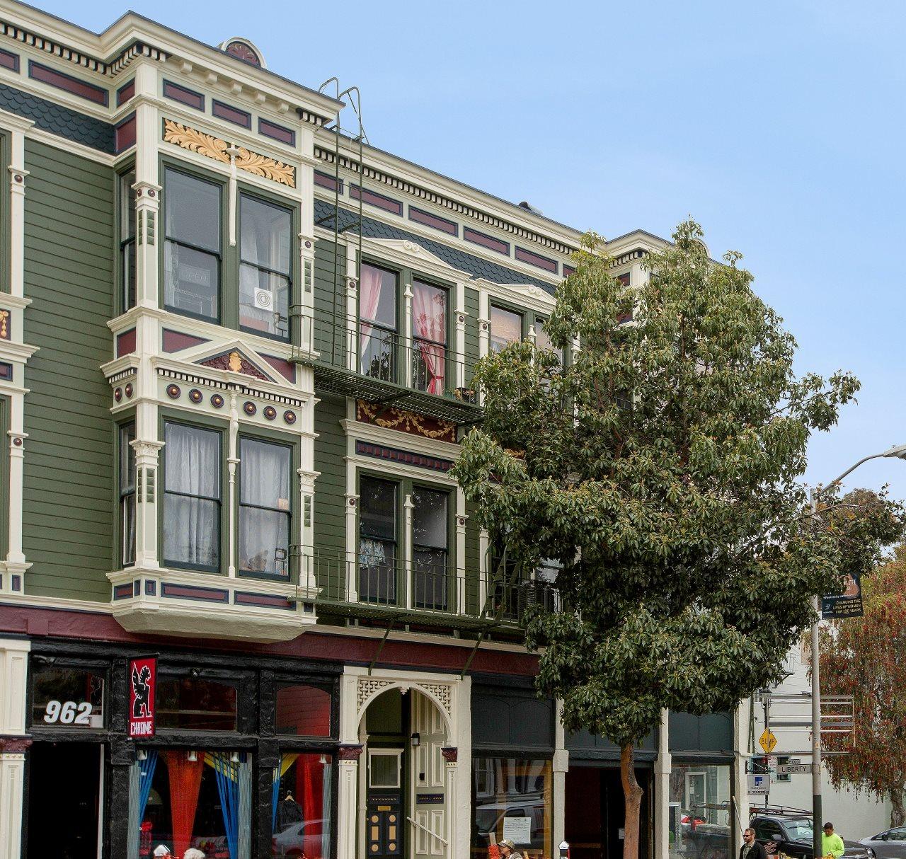 San Francisco Apartment Building