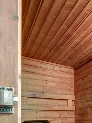 Sauna at North Stoughton Village Apartments in Stoughton, MA