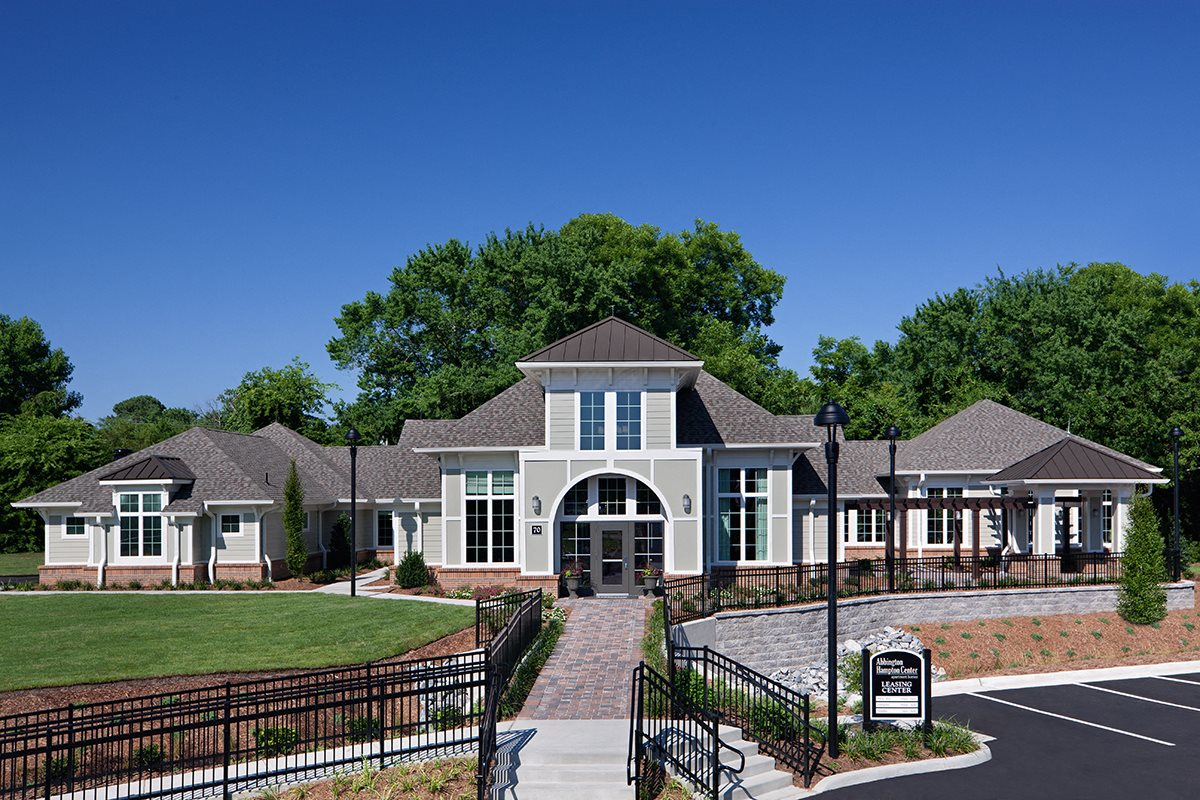 Modern Clubhouse and Amenities