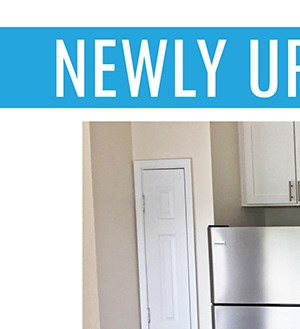 NEWLY Upgraded Apartment Homes Available!