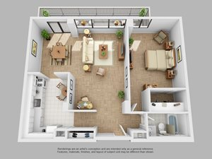 The Buchanan 11 Floorplan