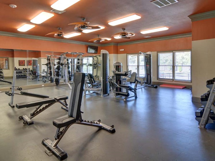 Fitness Center at Cumberland Place Apartment Homes, 75703