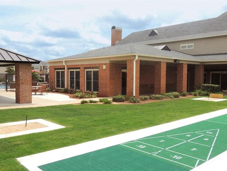 Shuffleboard and Horseshoe Game at Cumberland Place Apartment Homes, Tyler, TX, 75703