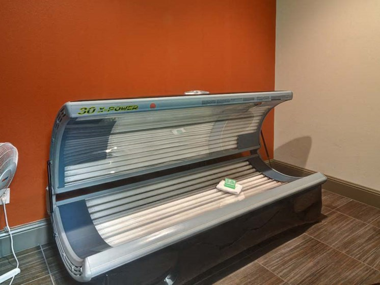 Luxurious Tanning Bed at Cumberland Place Apartment Homes, Texas, 75703