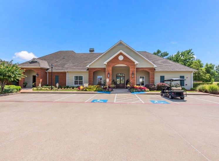 Leasing Office Exterior at The Madison of Tyler Apartment Homes, Tyler, Texas